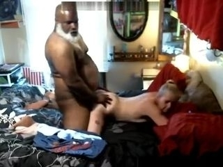black santa tearing it up with his BBC
